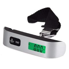 50kg/110lb Luggage Scale Electronic Digital Scale Portable Handheld Travel Suitcase Bag Hanging Scale Weight Balance
