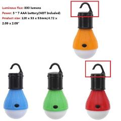 Mini Portable Lantern Tent Light LED Bulb Emergency Magnetic Torch Camping Waterproof Hanging Hook Flashlight For Camping