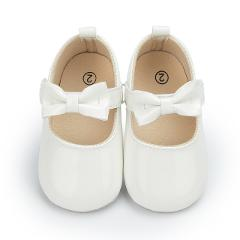 Newborn Baby Baby Boy Girl Baby Moccasins Moccs Shoes Bow Fringe Soft Soled  PU Leather Non-slip Footwear Crib Shoes