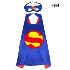 1CAPE+1MASK SuperHero capes Cosplay spiderman Costume for Children Halloween Party Costumes Kids Superhero Cloak