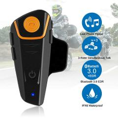 Riding Motorcycle Intercoms Bluetooth Helmet Headset Interphone 1000m