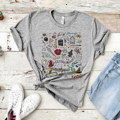 2019 Magical Wizarding World Book Lover Shirt Luna T-shirt Magical Lovegood  Graphic Tees HP fans Shirt