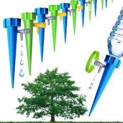 12Pcs/lot Automatic Irrigation Tool Spikes Automatic Flower Plant Garden Supplies Useful Self-Watering Device