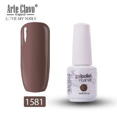 Arte Clavo Nail Gel 8ml Long Lasting Nail Polish pink Colors Gel Varnish Lacquer UV LED Soak Off Varnish Hybrid Gel Nail Art