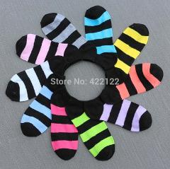 Warm comfortable cotton bamboo fiber girl women's socks ankle low female invisible  color girl boy hosiery 3pair=6pcs WS29