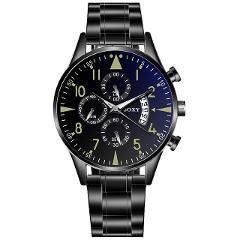 Classic Steel Watch relogio masculino Quartz Wristwatch Luminous SOXY Men's Watches Classic Calendar Mens Business saati hours