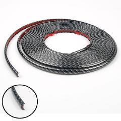 8M Car Wheel Sticker Tire Rim Strip Chrome Goods Auto Body Exterior Protection Middle Net Decoration Car-styling Accessories