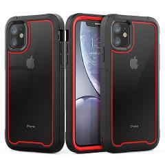Shockproof Armor New Phone Case For iPhone 11 Transparent hybrid TPU Cover For iPhone XR XS MAX 11 Pro Max XS 8 7Plus Clear Case
