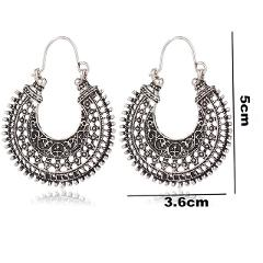 Fashion Metal Drop Earrings For Women Girls Round Moon Heart Geometric Stud Earring 30 Designs Dangle Statement Earrings Hoop