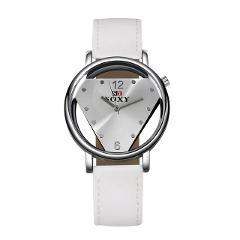 Creative Design Women Wrist Watch Leather  Ladies Cool Clock Simple Dress Gfit Montre Femme zegarek damski gifts for women