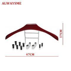 ALWAYSME Car Wood Coat Hanger Wood Travel Vehicle Headrest Hanger Keep Jackets & Coats Sharp Off the Floor 6Bushing 8/10/12mm