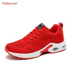 MAIJION Women Air Cushion Sneakers Breathable Running Shoes Men Women Outdoor Fitness Sports Shoes Female Lace-up Casual Shoes