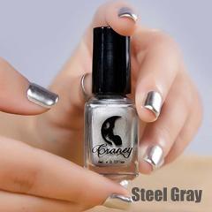 6ML Mirror Effect Metallic Nail Polish Transparent Purple Rose Gold Silver Chrome Nail Art Varnish For Nails Manicure Lacquer
