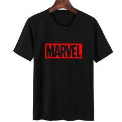 Women Tops T Shirt Marvel Print Short Sleeve Plus Size Tshirt Casual Tees White Tops Streetwear Women Clothes