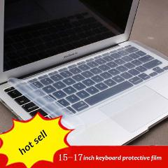 1pc Free Shipping 15-17 inch general laptop keyboard Cover Protector silicone gel film protective