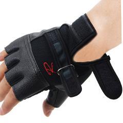 Men Women Gym Gloves Weight Lifting Bodybuilding Weight Lifting Gloves Fitness Training Gloves With Lengthen Wrist Straps