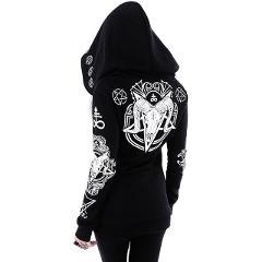 Witch Style Hoodie Moon Clothes Poleron Mujer 2019 Harajuku Dark Goth Punk Sweatshirt Plus Size Hoodies Women 5xl Hipster Hoodie
