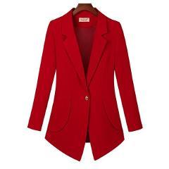 Plus Size 6XL Blazer Women Suits New 2020 Suit Women Clothing Short Slim Spring And Autumn Blazers Female Outerwear Black OAIRED