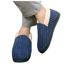 SAGACE Winter Men Slippers Plush Warm Cotton Home Slippers Indoor Socks Shoes Ladies Male Floor Shoes Footwear 1128