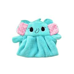 Cute Animal New Candy Colors Soft Coral Velvet Cartoon Animal Towel Can Be Hung Kitchen used