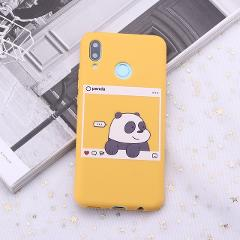 For Samsung S8 S9 S10 S10e Plus Note 8 9 10 A7 A8 Bears Cartoon Cute Instagram images Silicone Phone Case Capa Fundas Coque