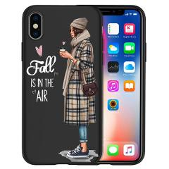 Fashion Girl Phone Case For iPhone 11 11 Pro Max 5 5S 6 6S 7 8 Plus X XS Max XR for Capa iPhone 8 Case Etui