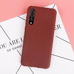 For Samsung Galaxy A50 A30 A40 A70 A60 Silicone Soft TPU Matte Back Case Cover