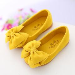 2019 children's shoes spring and summer autumn girls shoes single girls princess children casual soft bottom baby bow fashion
