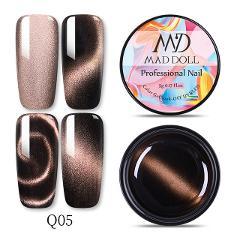 MD DOLL 5D Cat Eye Gel Nail Polish Magnetic Effect Gel Polish Starry Sky Soak Off UV Gel Nail Art Varnish DIY Design