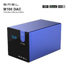 SMSL M100 HIFI USB DAC AMP MINI DAC Optical Coaxial Input AK4452 DSD512 32bit/768kHz Hi-Res Audio Decoder desktop