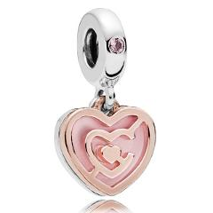 Mickey Minnie With Love The Ultimate Matchmaker Path To Love Pendant Charm Fit Pandora Bracelet 925 Sterling Silver Bead Jewelry