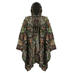 Hunting Camouflage clothes Ghillie Suits Yowie sniper birdwatch airsoft Clothing Ccloak 3D maple leaf Bionic