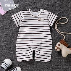 Baby Boy Romper Baby Clothes Cotton Short Sleeve Roupas Bebes Pullover Baby Girl Clothing Children Newborn Infant Jumpsuit