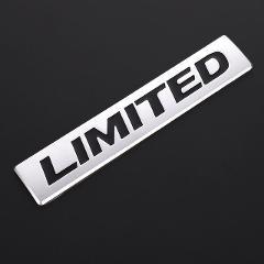 3D Metal LIMITED EDITION Logo Car Stickers Rear Emblem Badge Decals Tail Trunk Sticker for BMW Audi Honda Opel Toyota Chevrolet Skoda Mercedes Mazda Nissan Hyundai Ford Jaguar Land Rover Jeep Car Styling Accessories