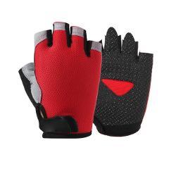 Spring Half Finger Outdoor Sports Riding Men Women Fitness Gloves Non-slip Fingerless Breathable Protective Sunscreen Gloves