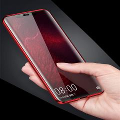 Mzxtby Magnetic Case Front+Back Double-side 9H Tempered Glass Case 360 Degrees Full Shockproof Case for Samsung S9 S8 S10 Plus