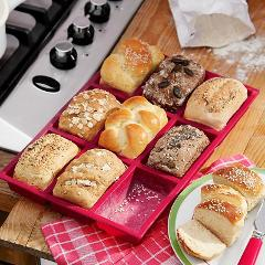 New Arrive! 9 Cup Muffin Brownie Cake Mold Silicone Nonstick Bakeware Family DIY Baking Tools Cake Mould