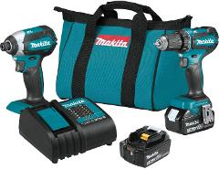 Makita XT281S 18V LXT 2-Pc. Combo Kit (3.0Ah)