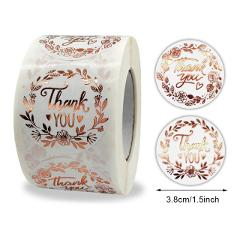 100Pcs Thank You Stickers Thank you for Supporting My Small Business Label Stickers For Packaging Box Stationary Decoration