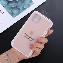 Original official Silicone With LOGO Case For iphone 7 8 6S 6 Plus X XS MAX XR phone Case for Apple iPhone 11 Pro Max Case Cover