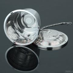 1PC Practical Tea Ball Strainer Mesh Infuser Filter 304 Stainless Steel Herbal New G03 Drop ship