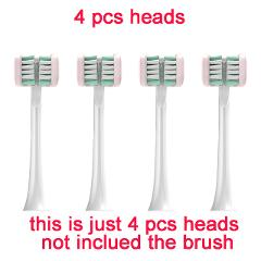 Electric toothbrush 3D package rechargeable ultrasonic couple adult student party soft hair automatic brushing artifact