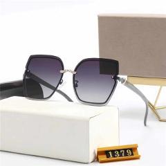 Designer Luxury Brand Polarized Sunglasses Oversized Frame Square Retro Men's  Women UV400 Driving Travel Shades Glasses Eyewear