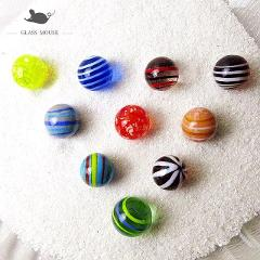 16mm Handmade Glass Marbles Balls Charms Home Decor accessories for Fish Tank Vase Aquarium game Toys for Kids Children 10PCS