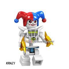 Bone Soldier Frakjaw Garmadon Weapon Skeleton Army Ninja Building Blocks Action  gift Toys for Children
