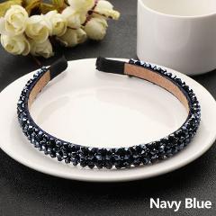 1 Pcs Fashion Crystal Metal Hairband Lady Girls Bling Headband Rhinestone Hair Band Wedding Bridal  Hair Accessories Jewelry