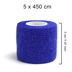 REXCHI 5CM*450CM Self Adhesive Elastic Bandage Non-woven Fabric Tape Protective Gear Knee Elbow Support Injury Pad