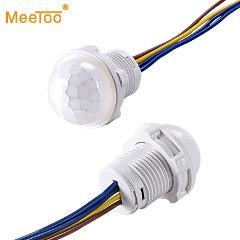 Mini Closet PIR Sensor Detector Smart Switch 110V 220V LED PIR Infrared Motion Sensor Detection Automatic Sensor Light Switch