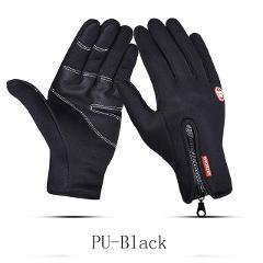 Man Winter Gloves Touch Screen Rain-proof 15 style Ski Lady Waterproof Warm Fashion Windproof Riding Sports Gloves Women Zipper