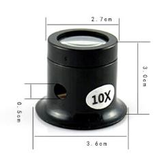 Jeweler Watch Magnifier Tool 10X/5X Monocular Magnifying Glass Loupe Lens Eye Magnifier Len Repair Kit Tool